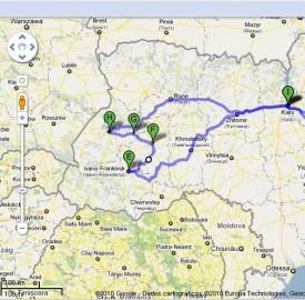 Roteiro de Viagem  Ucrânia - Agosto de 2011